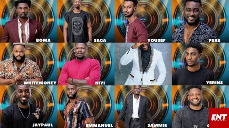 #BBNaija2021: Season 6 - all male housemates
