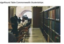 Apply For ACU Routledge-Round Table Commonwealth Studentships 2019