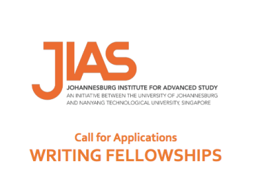 Johannesburg Institute for Advanced Study (JIAS) Writing Fellowships 2020