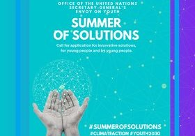 "Offic Of UN Youth Envoy Application 2019 ""Summer of Solutions"""