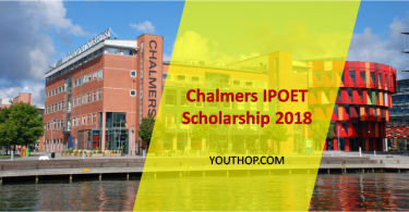 Apply for the IPOET Scholarship