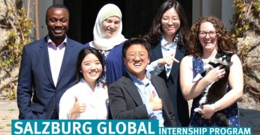Salzburg Global Seminar Internship Program 2020