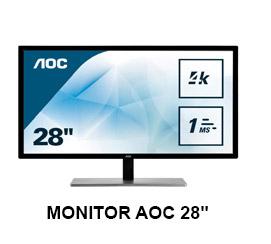 "Monitor AOC 28"""