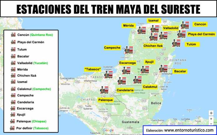 Image result for tren maya