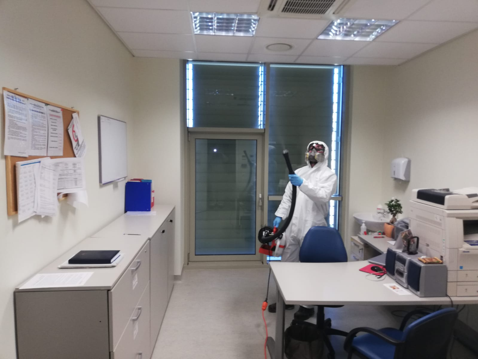 servizio di disinfezione coronavirus in ambulatorio
