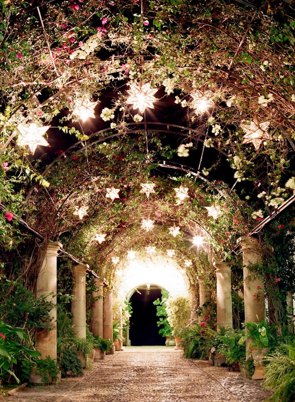 Courtyard in Hacienda las Trancas  Entouriste