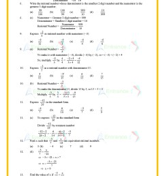 Rational Numbers Worksheet Class 7   Printable Worksheets and Activities  for Teachers [ 1754 x 1240 Pixel ]