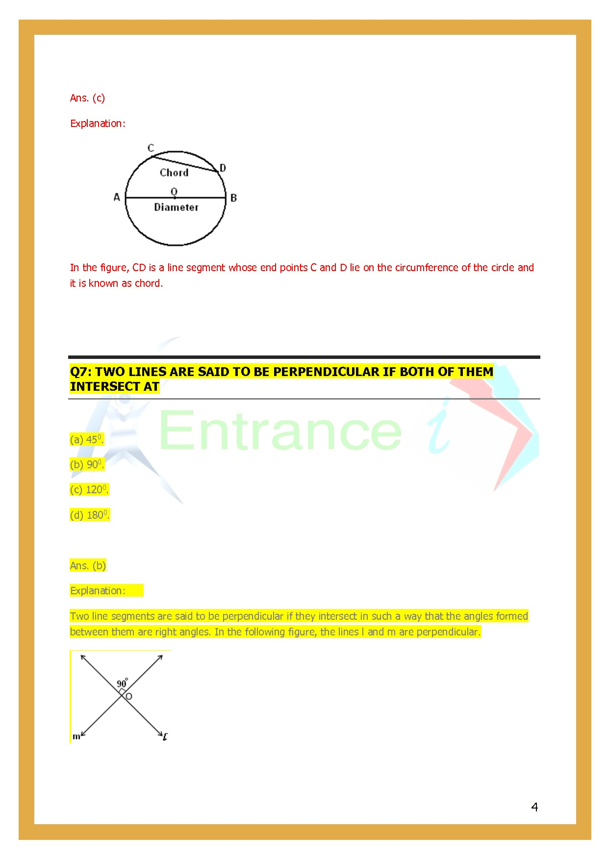 Class 6 Maths Chapter 14 Practical Geometry Worksheet 1