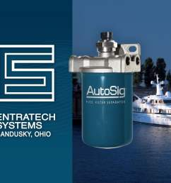 marine fuel water separator for boats marine fuel filter system applications gasoline or diesel [ 1200 x 900 Pixel ]