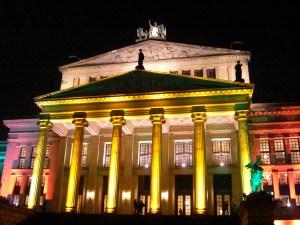 Lichtfestival - Konzerthaus am Gendarmenmarkt