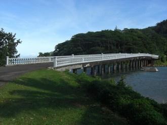 Pont reliant les deux îles