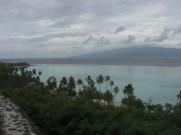 Moorea - vue sur Tahiti
