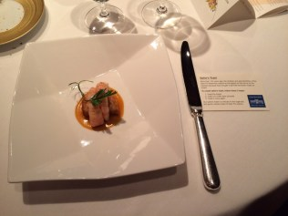 Gamba on Sailor's Toast tribute to the local sailors cuisine