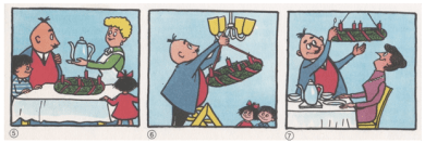 Papa Moll und der Adventskranz (2)