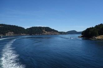 En route pour l'île de Vancouver