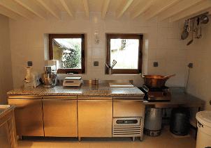 cuisine bois recyclé