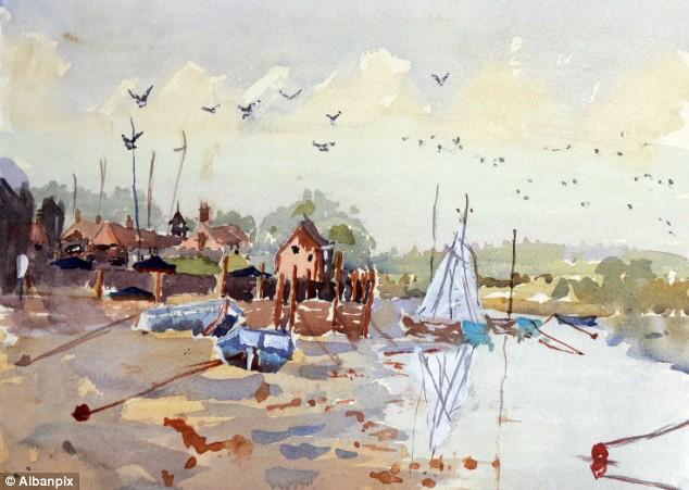 Un nio britnico de 7 aos vende sus pinturas a ms de 1000 euros cada una