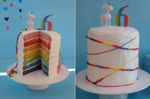 Colorida fiesta Arco Iris para un cumpleaos infantil