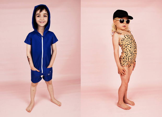 Nueva coleccin de baadores Mini Rodini para bebs nios