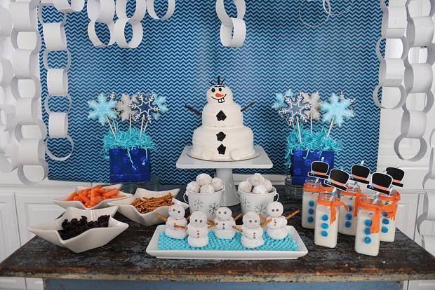 Fiesta temtica de Frozen  EntreChiquitines