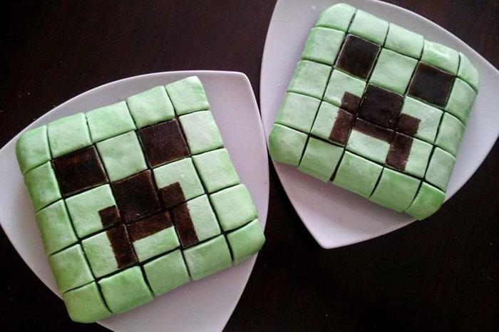 Cumpleaos temtico de Minecraft ideas para decorar la fiesta y la mesa  EntreChiquitines
