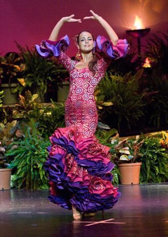 traje de flamenca sara de benitez