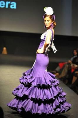 Foto Cristóbal. Expo Flamenca, pasarela de Pilar Vera,12-02-09.