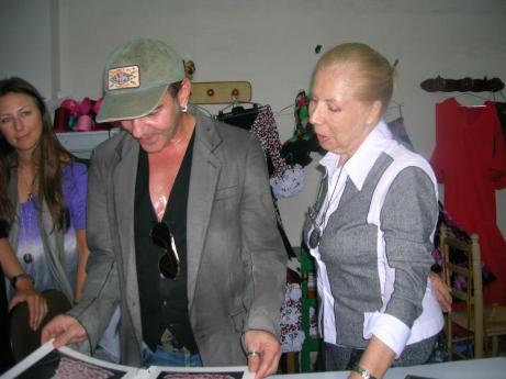 John Galliano y Lina