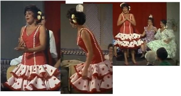 Dolores Abril pelicula Gitana 1965