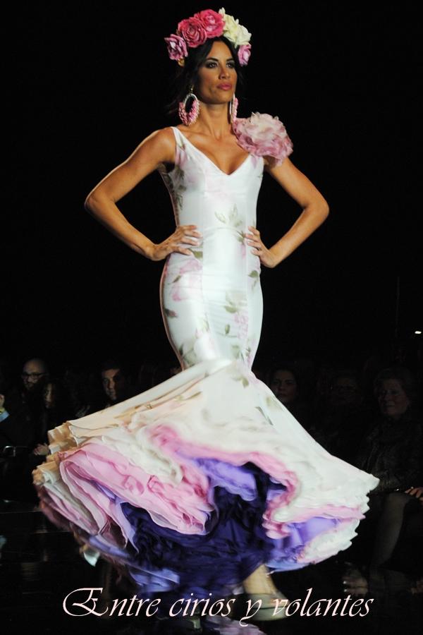 Trajes de flamenca negro y blanco