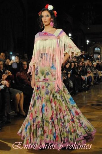 Traje de flamenca de El Ajoli We Love Flamenco 2014
