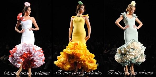 Trajes de flamenca de Sara de Benitez Simof 2014