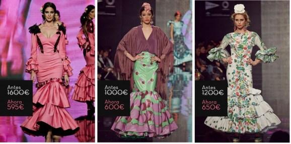 Lina Sevilla Trajes de flamenca 2