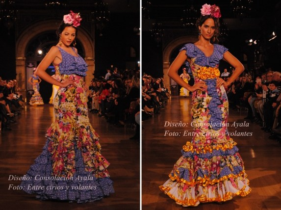 Consolacion Ayala trajes de flamenca 2015