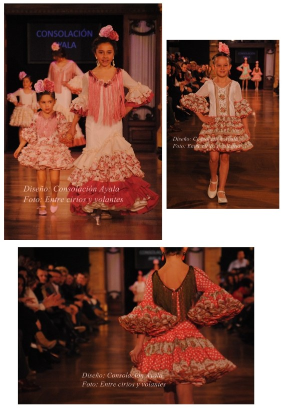 Consolacion Ayala trajes de flamenca de niñas