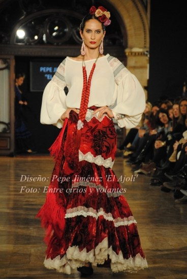 El Ajoli We Love Flamenco 2015 mangas de flamenca
