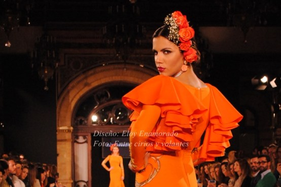 Eloy Enamorado we love flamenco 2015 mangas de flamenca