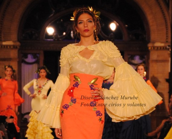 Sanchez Murube We Love Flamenco 2015 mangas de flamenca
