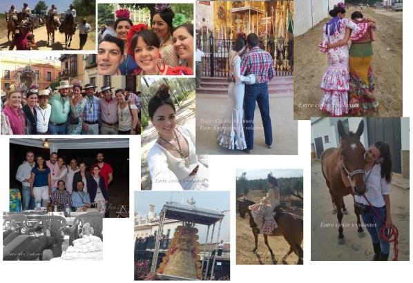 Rocio 2015 Entre cirios y volantes 2