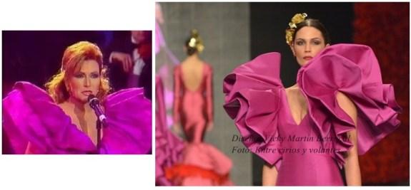 vicky martin berrocal trajes de flamenca foto entre cirios y volantes