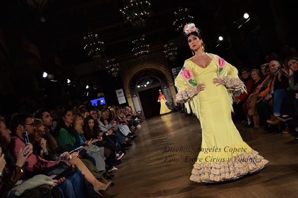 angeles copete trajes de flamenca