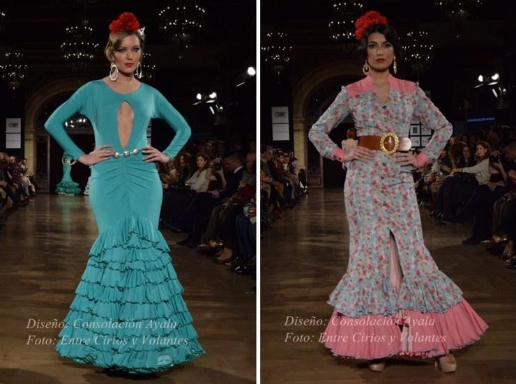 consolacion ayala trajes de flamenca entre cirios y volantes 2