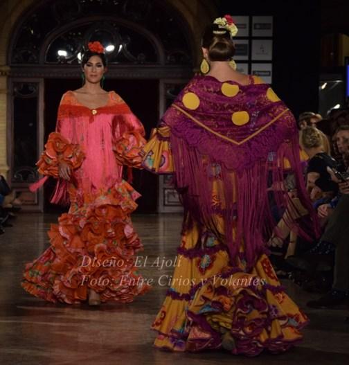 el ajoli 2016 trajes de flamenca 8