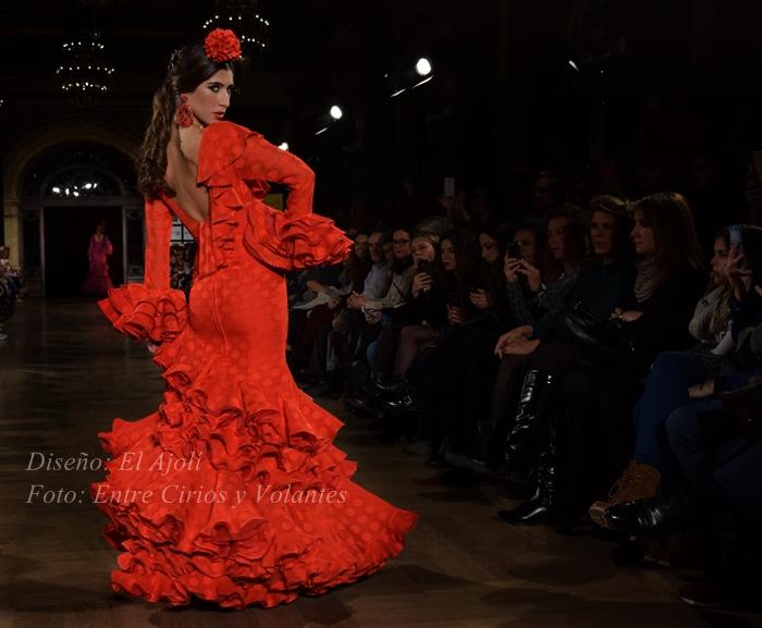 el ajoli trajes de flamenca 2016 2