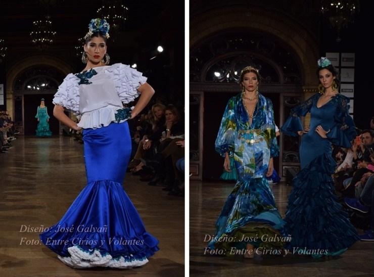 jose galvan trajes de flamenca