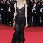 Claudia Schiffer preocupa por su delgadez