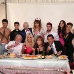 """""""Los Grimaldi"""": Toda la intimidad de las fotos para la marquesina"""