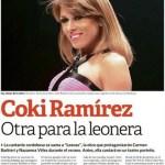"Coki Ramirez va a ser una ""leona"" en el Teatro"
