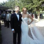Se casaron Marcela Kloosterboer y Fernando Sieling