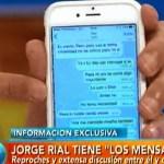 Rial mostró los último mensajes entre Luciana Salazar y Martín Redrado